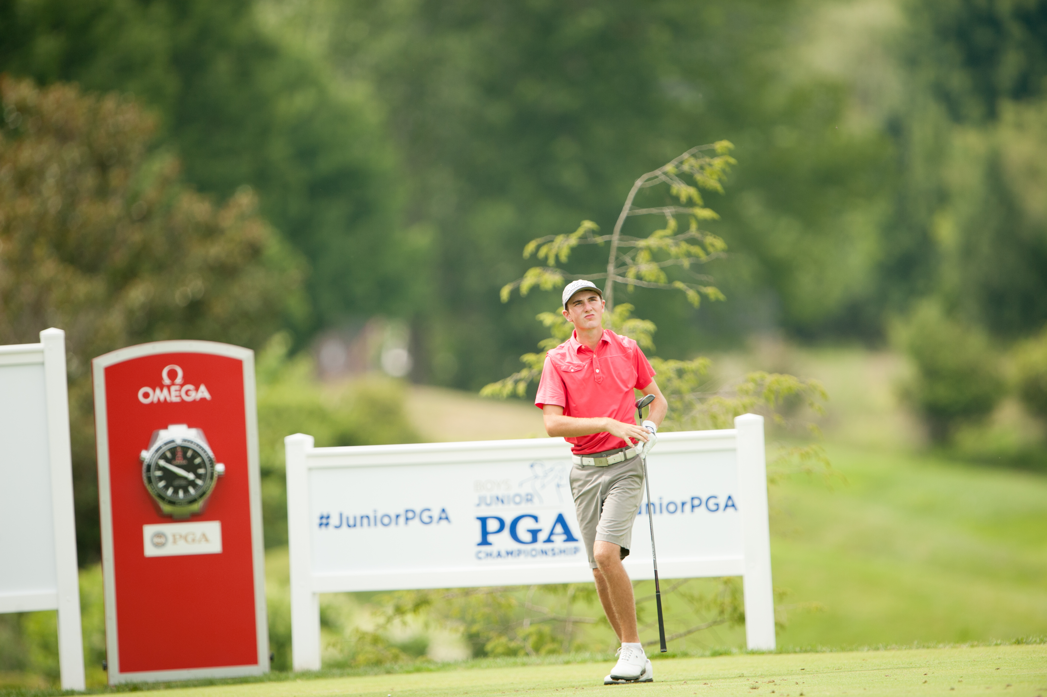 15-Year Old Dawson Ovard's First Round Record 64 Sets Blistering Pace at 42nd Boys Junior PGA Championship