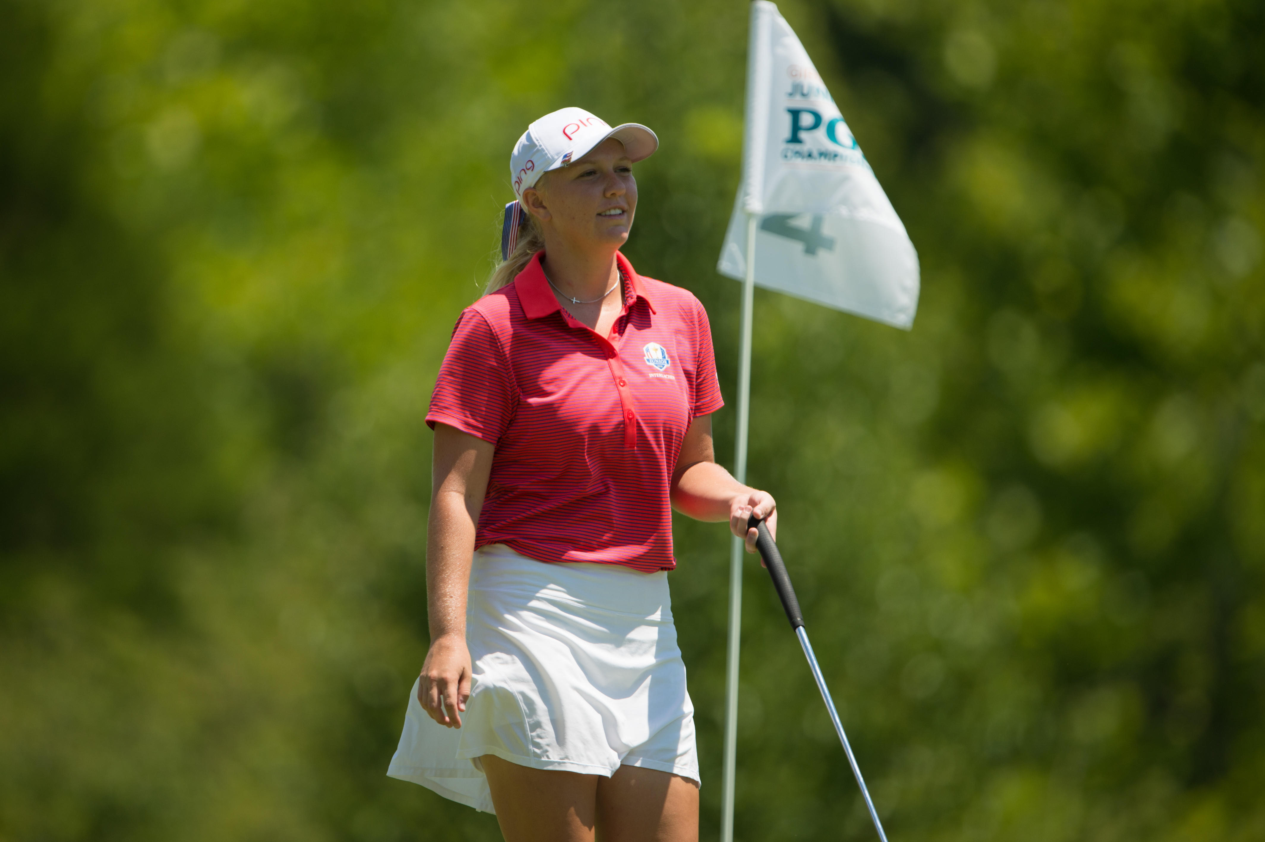 Record-Tying Round for Hailee Cooper Places Her Atop the Leaderboard at 42nd Girls Junior PGA Championship