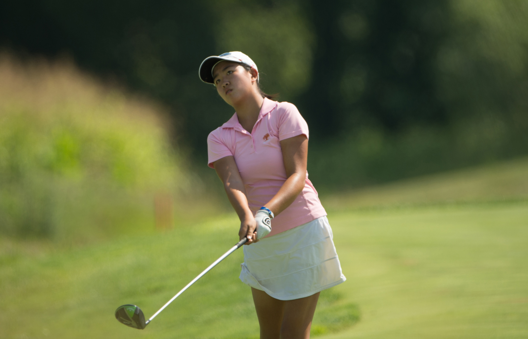 Rose Zhang's Record-Tying Round Has Her Tied with Hailee Cooper and Yealimi Noh at Girls Junior PGA Championship