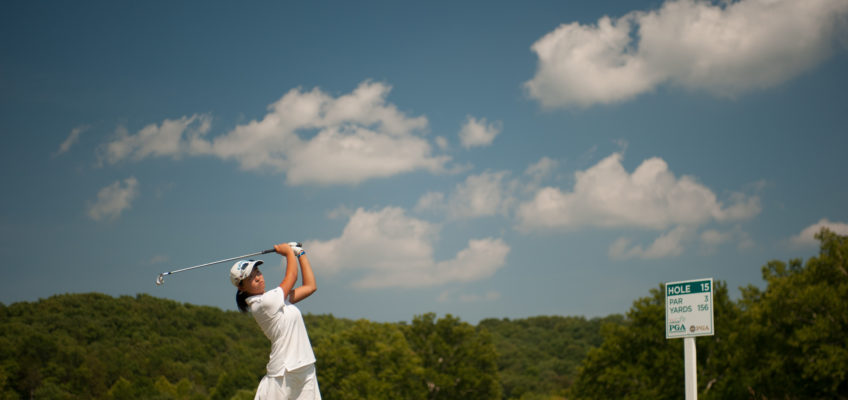 Zhang Breaks Record, Owns Solo 54-Hole Lead  at Girls Junior PGA