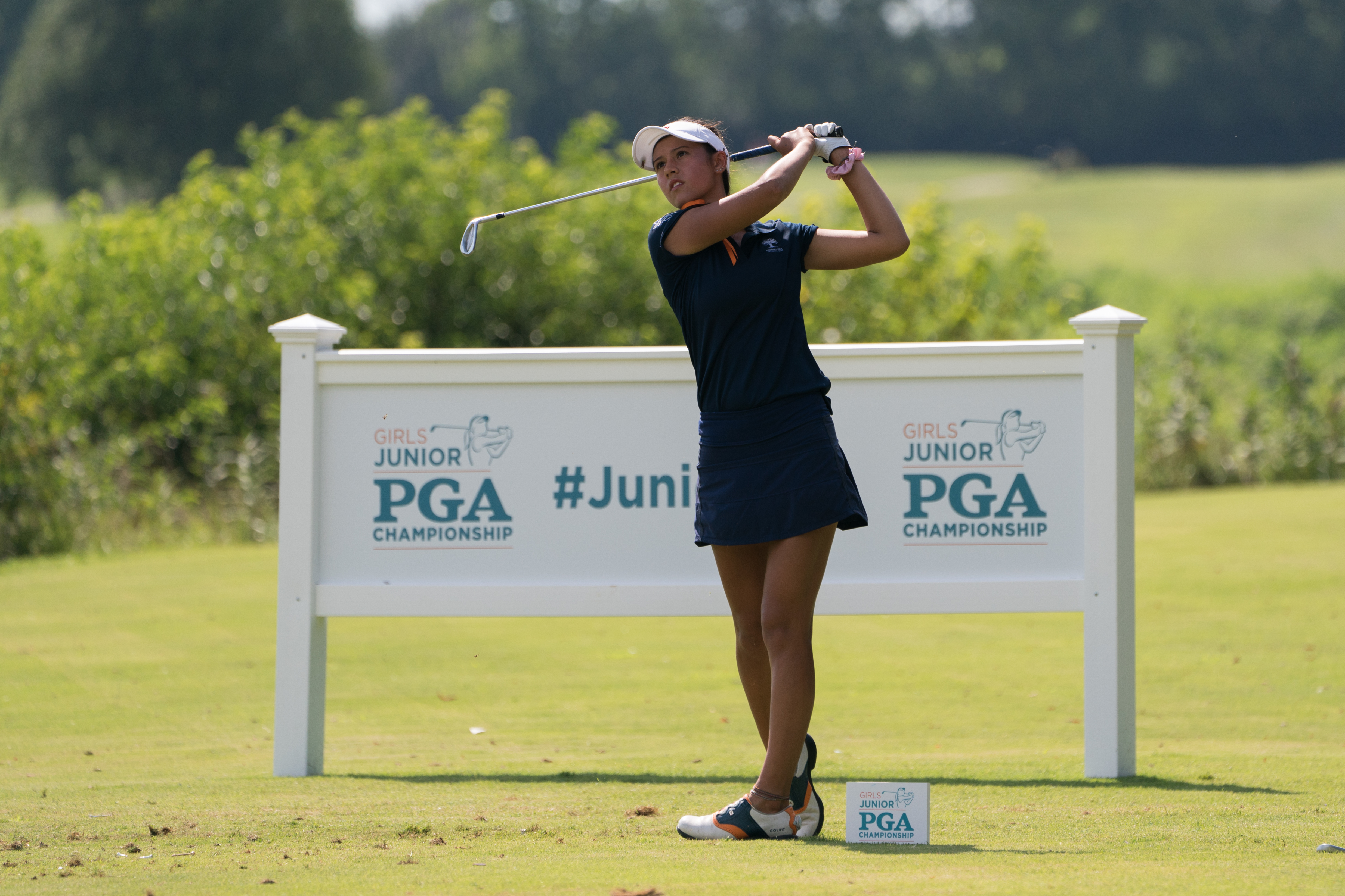 Record-Setting Round for Alexa Melton, Paces the Field at Girls Junior PGA