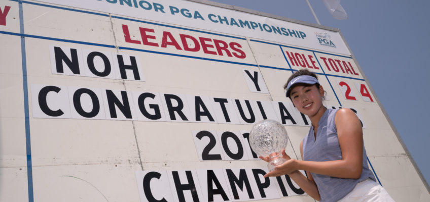 Say Noh More: Yealimi Noh Cruises to Title at Girls Junior PGA Championship