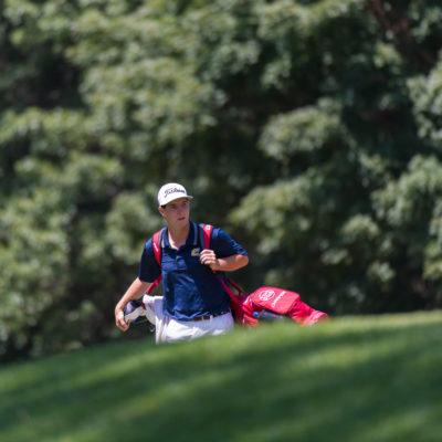 HARTFORD, CT - AUGUST 1: Braedon Wear walks towards the fourth green during the third round for the 44th Boys Junior PGA Championship held at Keney Park Golf Course on August 1, 2019 in Hartford, Connecticut. (Photo by Hailey Garrett/PGA of America)