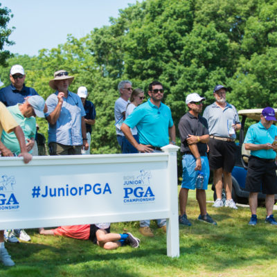 HARTFORD, CT - AUGUST 2: during the final round of the 44th Boys Junior PGA Championship held at Keney Park Golf Course on August 2, 2019 in Hartford, Connecticut. (Photo by Hailey Garrett/PGA of America)